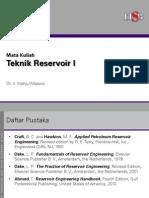 Teknik Reservoir_Material Balance