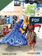 Insight Cuba Brochure