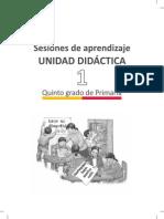 Documentos Primaria Sesiones Matematica Quintogrado Orientaciones Para La Planificacion Unidad01 5grado