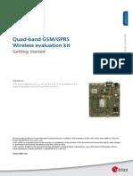 EVK G20 GettingStarted (GSM G1 EK 11002)