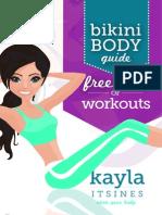 BBG Free Week of Workouts 1