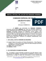 Edital Oficial de Leilão Senado Federal v2