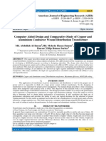 Computer Aided Design and Comparative Study of Copper and Aluminium Conductor Wound Distribution Transformer
