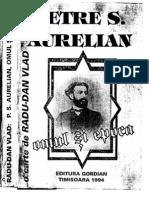 Petre S. Aurelian - Omul si epoca