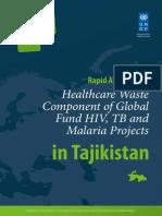 UNDP Waste Management in Tajikistan