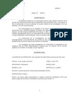 Informe Final Sobre el Accidente de José Luis Gioja