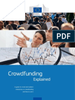 Crowdfunding Explained European Commission March 2105