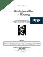 Proyección Astral Para Principiantes - Edaín McCoy
