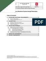 6.18 Offshore Emergency Shutdown System Design Philosophy