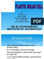 Infrared Plastic Solar Cell