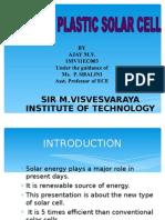Infrared Plastic Solar Cell