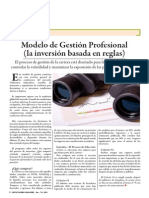 Modelo de Gestion Profesional