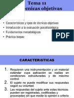 Tema 11 Txcnicas Objetivas Xsin Clxnicasx