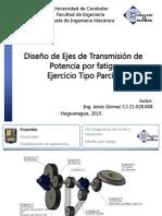 Diseño de Ejes de Transmisión de Potencia (Ejercicio)