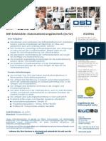 #16961 - SW Entwickler Automatisierungstechnik (M_w) Fürstenfeldbruck
