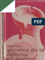 9- Los Secretos de La Defensa en Ajedrez Por Mihail Marin