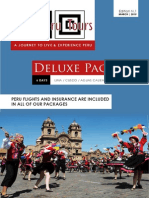 Best Peru Tours - Deluxe Package