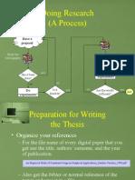 Write a Thesis