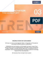 Futurebiz & TRENDONE Online Marketing Innovation Trendreport 03 2015