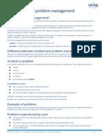 ITIL - a Guide to Problem Management PDF