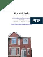 Fiona Nicholls - Retrofit Experiences