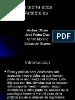 La Teoría Ética Aristoteles