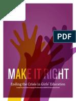 campaign school girls