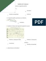 Análisis de Texturas y Matices 2013