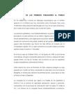 La Llegada de Los Primeros Pobladores Al Pueblo Venezolano