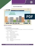 Desarrollo Plan de Mercadeo Excel