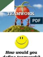 Teamwork TQM Ppt - Isha and Venus