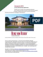 Deutscher Traumhauspreis 2015