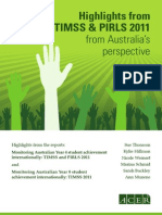 timss-pirls australian-highlights