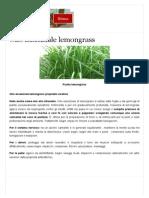 Olio Lemongrass