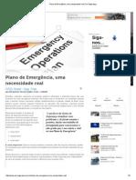 Plano de Emergência, Uma Necessidade Real _ de-Segurança