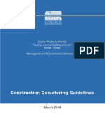 Management of Construction Dewatering Guideline Manual- ASHGHAL- Final- March 2014