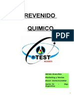 REVENIDO QUIMICO