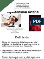 HIPERTENSION ARTERIAL - DRA. MARY CARMEN FERNANDEZ(2).ppt
