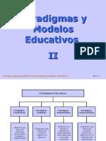 Paradigmas y Modelos Educativos II 27799