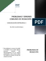 PROBLEMAS Redaccion
