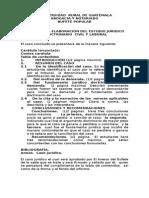 Guia Para Elaboracion Del Estudio Juridico Doctrinario