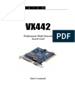 UserManual VX442 en v02