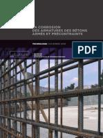 LA CORROSION DES ARMATURES DES BÉTONS ARMÉS ET PRÉCONTRAINTS