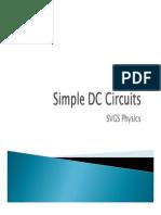 Unit 04 DC Circuits