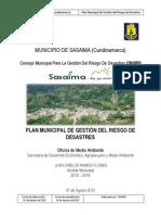Pmgrd Municipio de Sasaima 2012