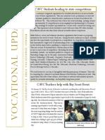 Vocational Newsletter #4 2014-15