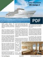 Cruise Ship Review Europa 2