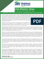 HABITAT WORLD WATER DAY.pdf