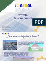 Proyecto tejados solares