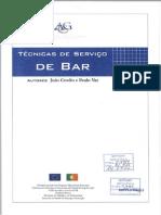 tecnicas serviço bar